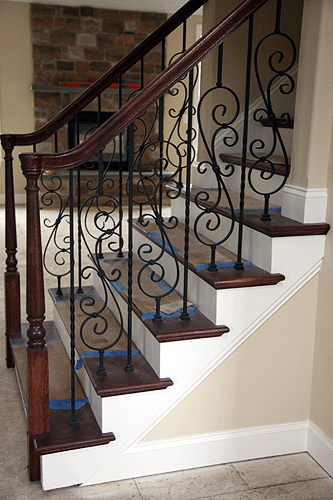 Custom Stairs, Fancy trim